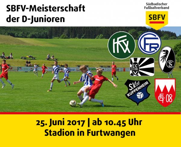 Titelbild zur SBFV-Meisterschaft der D-Junioren 2016/2017