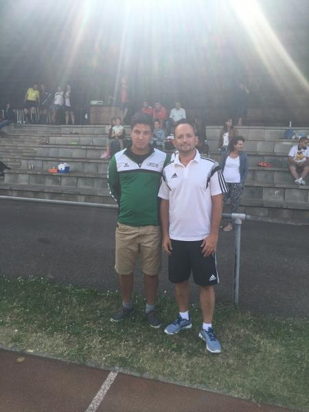 Orga-Team des FC Furtwangen
