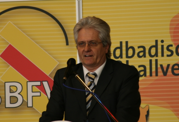 Karlheinz Wilhelm, Vors. SFV-Jugendausschuss