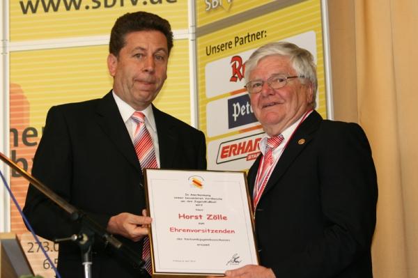 Alfred Hirt und Horst Zölle