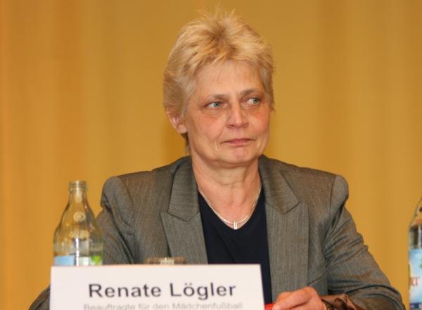 Renate Lögler, Beauftragte für Mädchenfußball