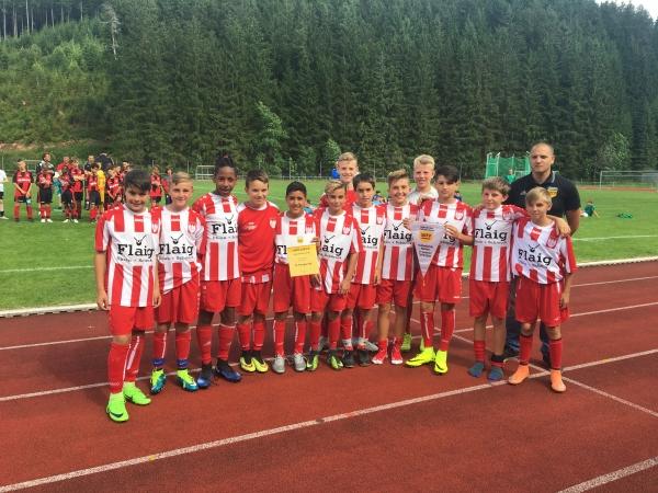 Sieger der SBFV-Meisterschaft wurde der Vetreter aus dem Bezirk Hochrhein: FC Tiengen 08