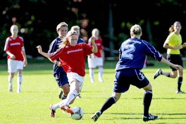 Szene vom Spiel 1 gegen Thüringen
