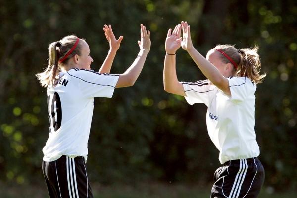 Szene vom Spiel 2 gegen Bayern