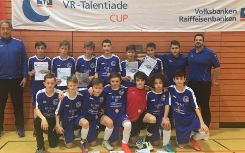 Landesfinale BW im VR-Talentiade CUP 2018: FC 03 Radolfzell (6. Platz)