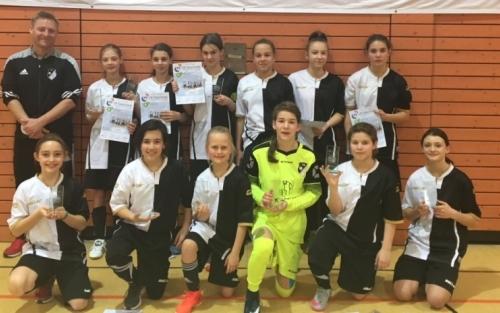 Landesfinale BW im VR-Talentiade CUP 2018: FC Wittlingen (2. Platz)
