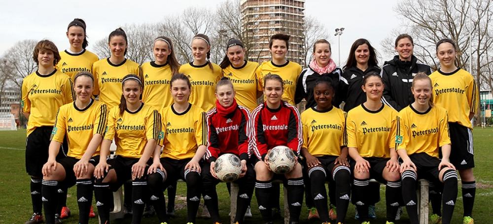 SBFV-Kader beim DFB U16-Juniorinnen-Sichtungsturnier in Duisburg