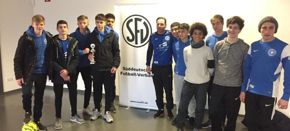 Süddeutsche Futsalmeisterschaft der C-Junioren: SF Eintracht Freiburg (6. Platz)