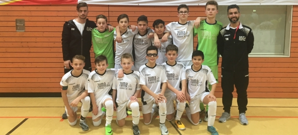 Landesfinale BW im VR-Talentiade CUP 2018: FC 08 Villingen (3. Platz)