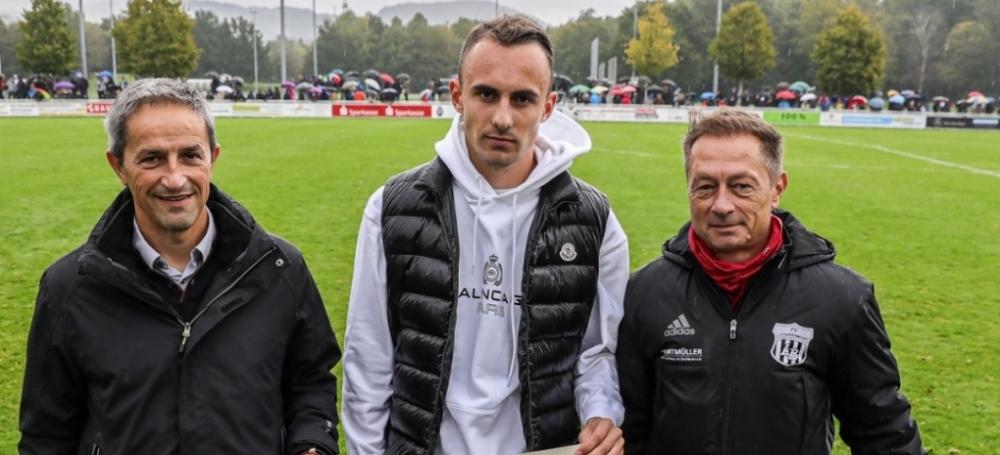 DFB-Bonuszahlung 2019, FV Lörrach-Brombach, Felix Gebhardt