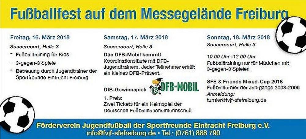 DFB-Mobil besucht die Freizeitmesse