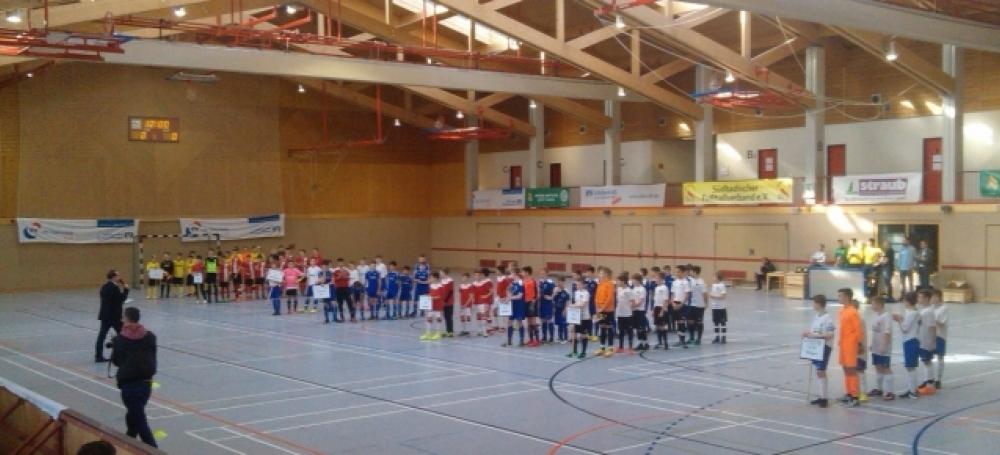 Für das Landesfinale um den VR-Talentiade CUP qualifizierten sich die besten acht Mannschaften der D-Junioren.