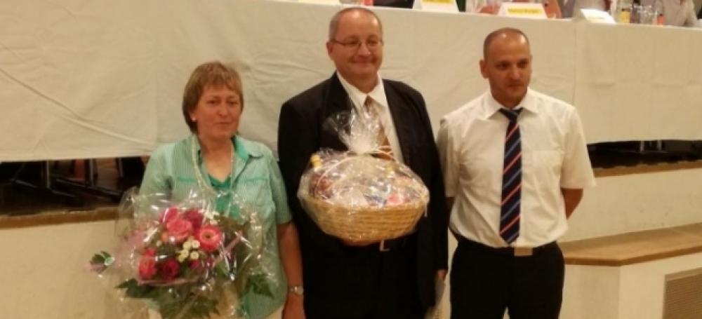 Ulrich Müller beendet seine Tätigkeit als Bezirksjugendwart.