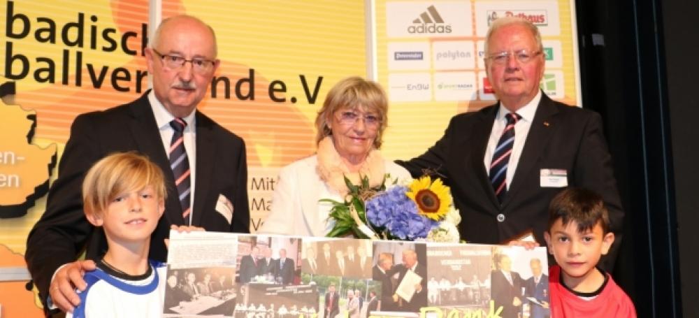 Thomas Schmidt mit Rudi Krämer und Ehefrau.