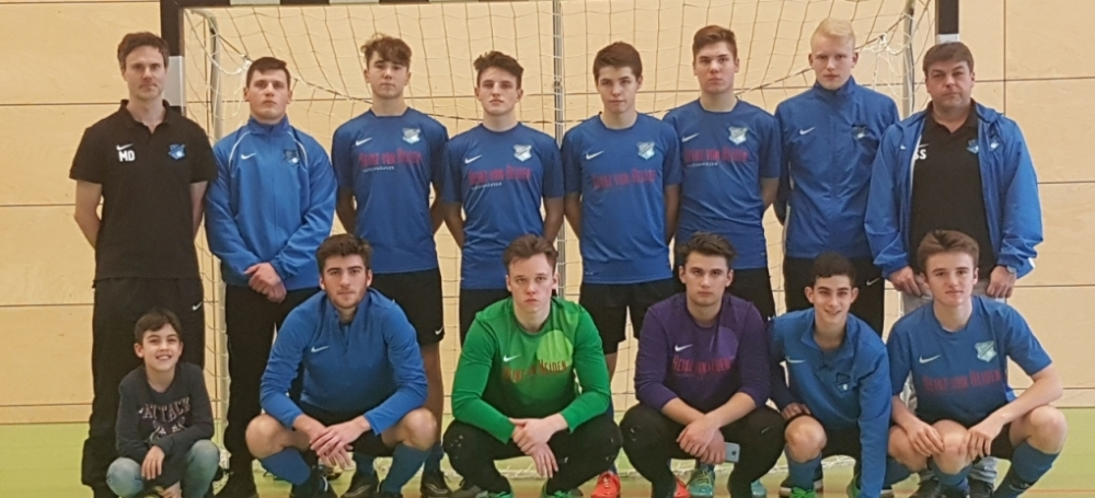 Süddeutsche Futsalmeisterschaften der A-Junioren: SV 08 Kuppenheim (3. Platz)