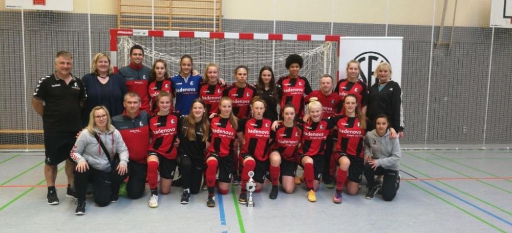 Süddeutscher Futsalmeister der B-Juniorinnen: SC Freiburg