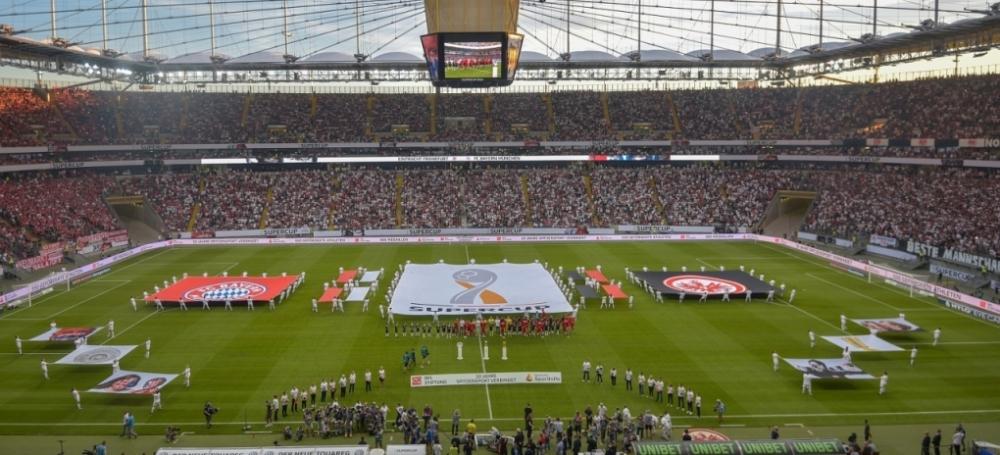 Supercup 2018 in Frankfurt: Eintracht Frankfurt - FC Bayern München