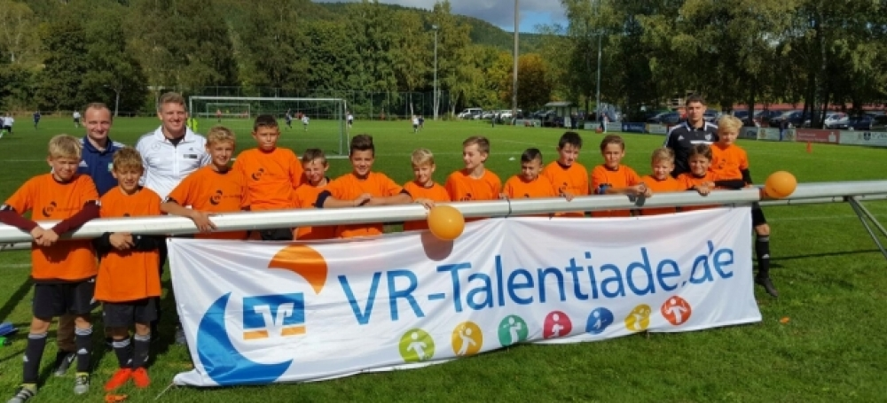 VR-Talentiade am 03.10.2016 (Jahrgang 2005, DFB-Stützpunkt Hausen a. d. A.) © Florian Rapp (SG Kirchen-Hausen)