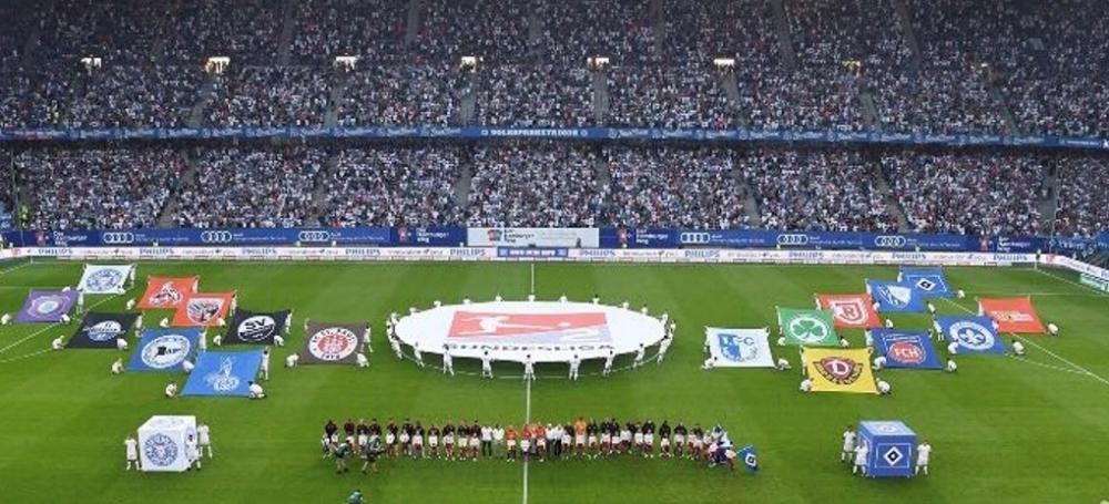 Saisoneröffnung der 2. Bundesliga in Hamburg: Hamburger SV - Holstein Kiel