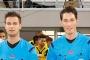 Daniel Schlager und Matthias Jöllenbeck pfeifen in der kommenden Saison zweite Liga