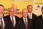 Das neue Präsidium: Dr. Reinhold Brandt, Norbert Schlageter, Thomas Schmidt, Fabian Ihli und Prof. Dr. Christian Dusch