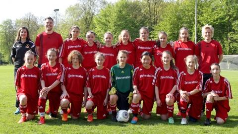 SBFV-Kader beim DFB U14-Juniorinnen-Sichtungsturnier in Duisburg