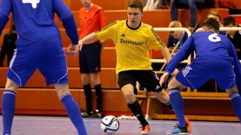 Tim Baumer beim Futsal-Länderpokal 2016