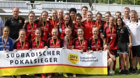 SBFV-Verbandspokalsieger der B-Juniorinnen: SC Freiburg