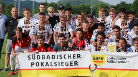 SBFV-Verbandspokalsieger der A-Junioren: SC Freiburg