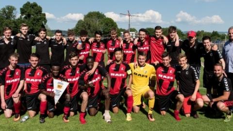 B-Junioren Verbandsliga: SC Freiburg (Bezirk Freiburg)