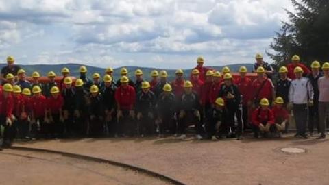 Als gemeinsame Freizeitaktivität stand der Besuch des Museums-Bergwerk Schauinsland auf dem Programm.