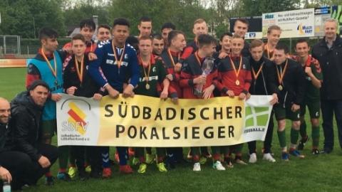 Der SC Freiburg ist Verbandspokalsieger der C-Junioren