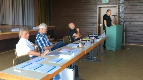 Die überbezirkliche Staffeltagung der Junioren für die Saison 2017/2018 fand in Saig statt.