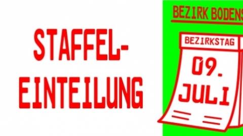 Staffeleinteilung 2017/2018