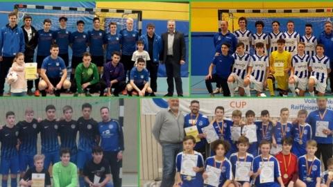 Die SBFV-Futsalmeister der Junioren 2017/2018