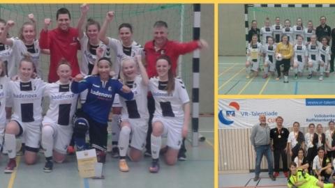 Die SBFV-Futsalmeister der Juniorinnen 2017/2018