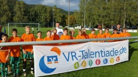 VR-Talentiade am 03.10.2016 (Jahrgang 2004, DFB-Stützpunkt Unterkirnach) © Florian Rapp (SG Kirchen-Hausen)