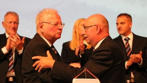 Rudi Krämer wurde zum Ehrenpräsidenten ernannt